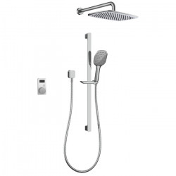 Smartview Digital Axiss Slide Shower and Rain Head Pack 04
